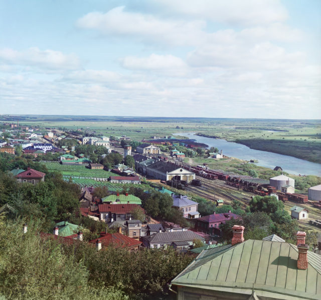 Vladimir - view of Klyazma.