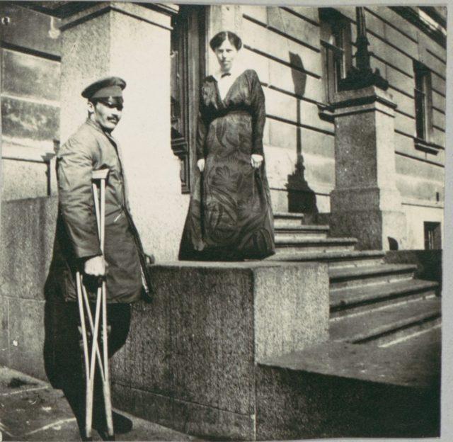 Album of Maria Fyodorovna Romanova. 1916