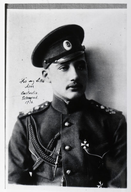 Children of the Grand Duke Constantine Romanov