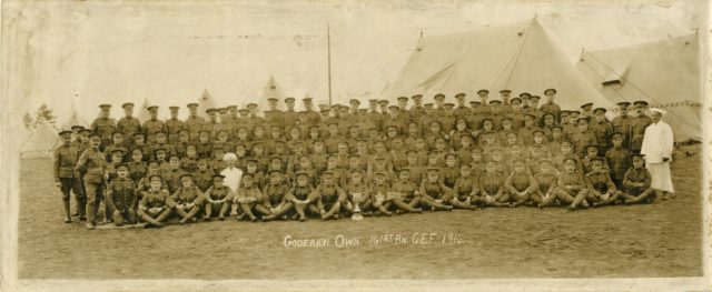 Goderich's Own, 161st Battalion C.E.F.