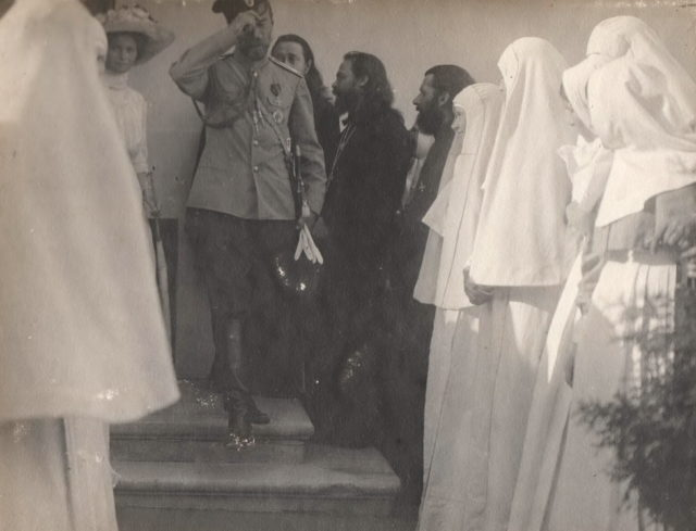 Nicholas II after Prayer