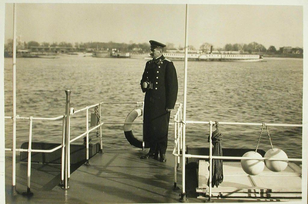 """Steamer """"Golovachev"""" Captain. 1916."""