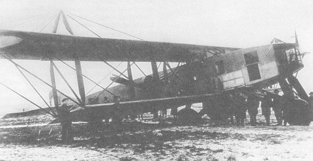 Syatogor heavy bomber wheels incident, 1916