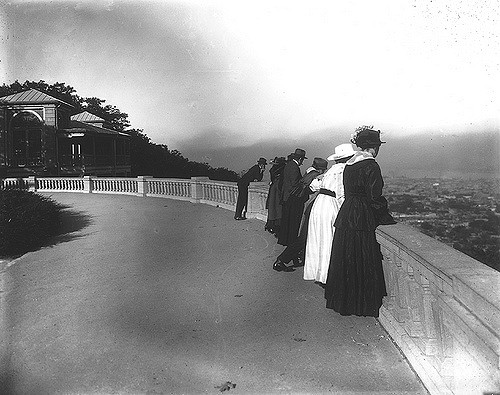 The Lookout, Mount Royal Park, Montreal, QC, 1916