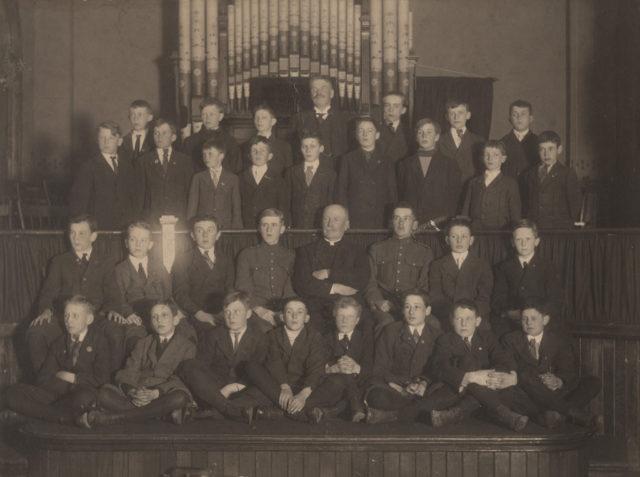 Victoria Street, Goderich, Pocket Testament League, 1916
