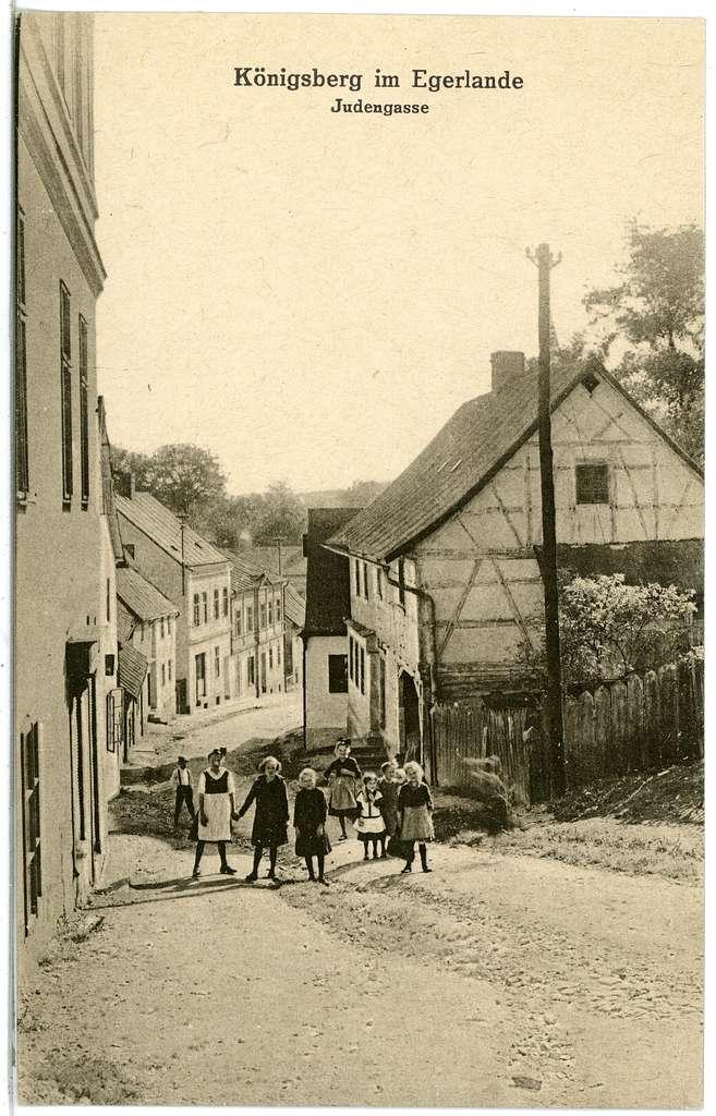 20670-Königsberg a. d. Eger-1917-Judengasse-Brück & Sohn Kunstverlag