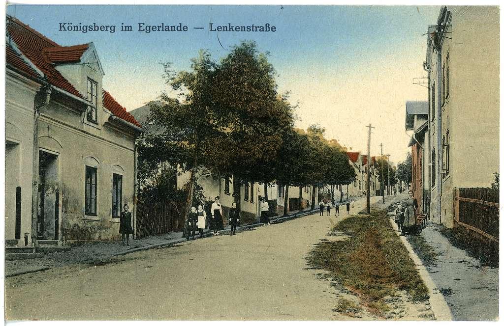 20671-Königsberg a. d. Eger-1917-Lenkenstraße-Brück & Sohn Kunstverlag