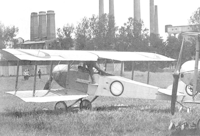 Airplane-Scout Anade-Anatra-D