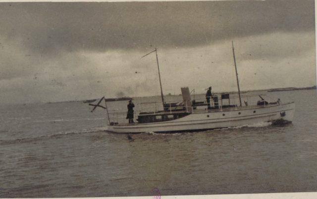 Arkhangelsk port, 1917