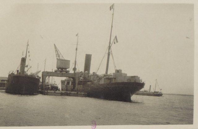 1917 - in port of Archangelsk