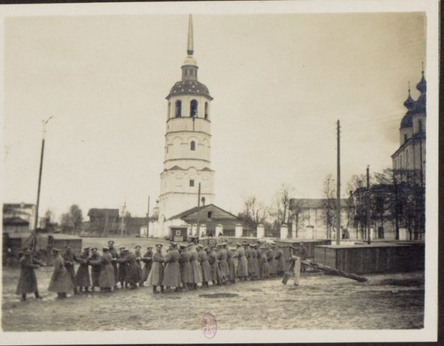Arkhangelsk Cathedral - Albert Thomas return from Russia to France, 1917