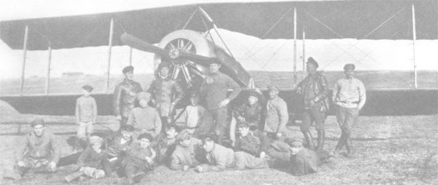 Anatra-Anakler - Russian reconnaissance airplane Anakler