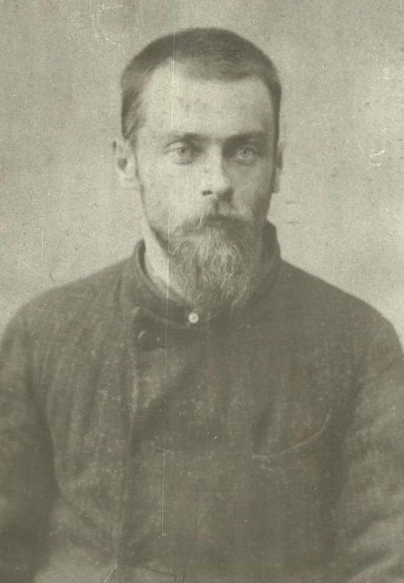 A.P. Sklyarenko. Political exile - Onega, Arkhangelsk region, Russia, White Sea.