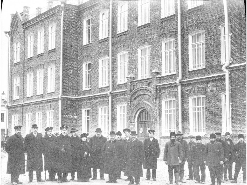 Arkhangelsk. Members of the Board of Trustees of the Olginskaya Gymnasium. 1910s