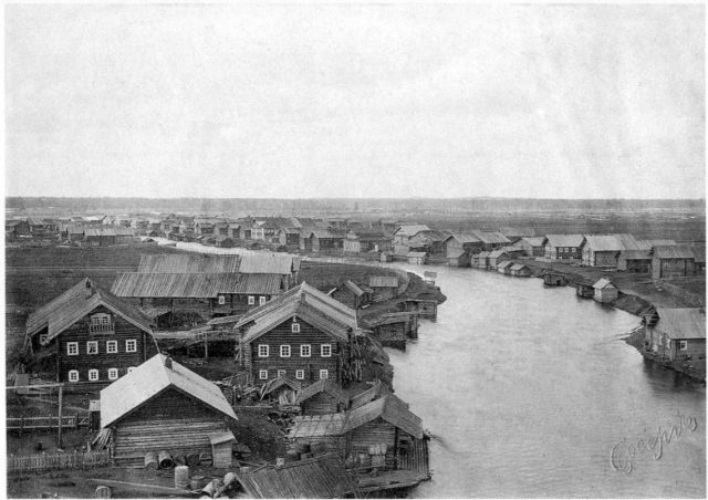Arkhangelsk Province. Onega county. The village of Sheleksa. 1910s