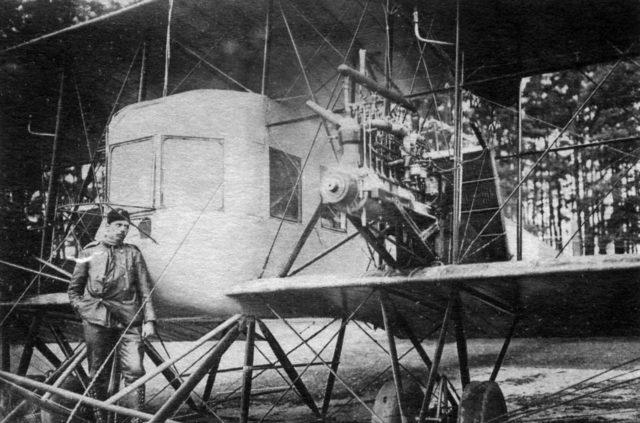 Cabin and Argus Engine, Heavy bomber Ilya Muromets