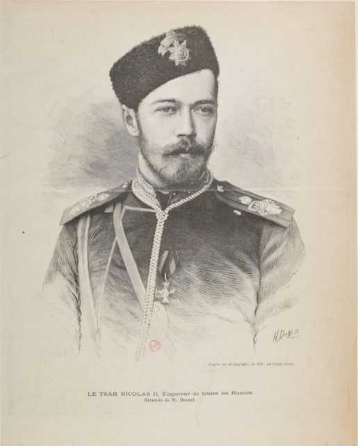 Emperor of Russia Nikolay II, Cossac uniform