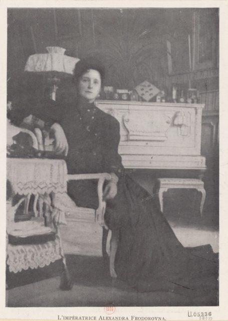 Empress of Russia Alexandra Feodorovna, 1910-1917