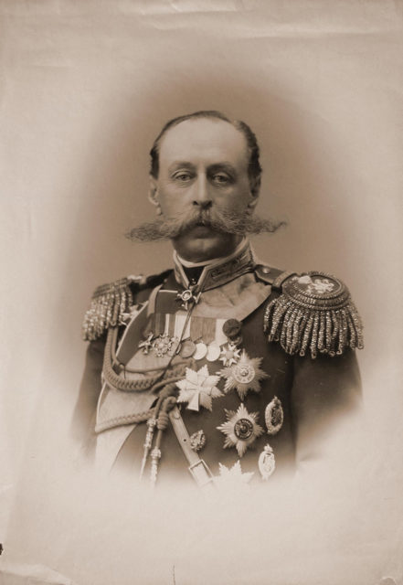 Frederiks Vladimir Borisovich (Adolf-Anton-Woldemar) - Baron, Minister of the Imperial Court and Lands