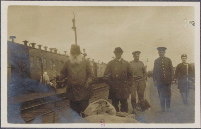 From Petrograd to Vologda in 1917. Albert Thomas travel to Russia.