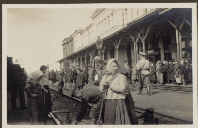 From Petrograd to Vologda by rail in 1917. Albert Thomas travel to Russia.