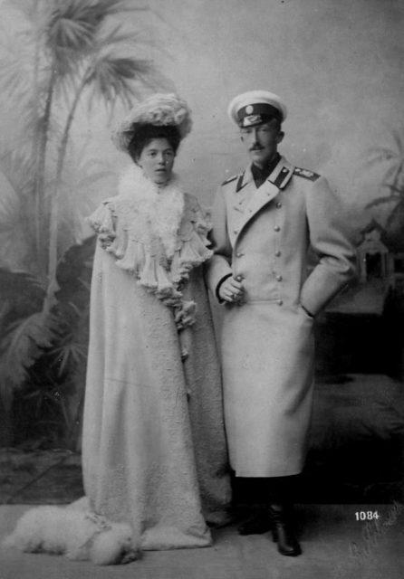 Grand Duchess Olga and Prince Peter of Oldenburg