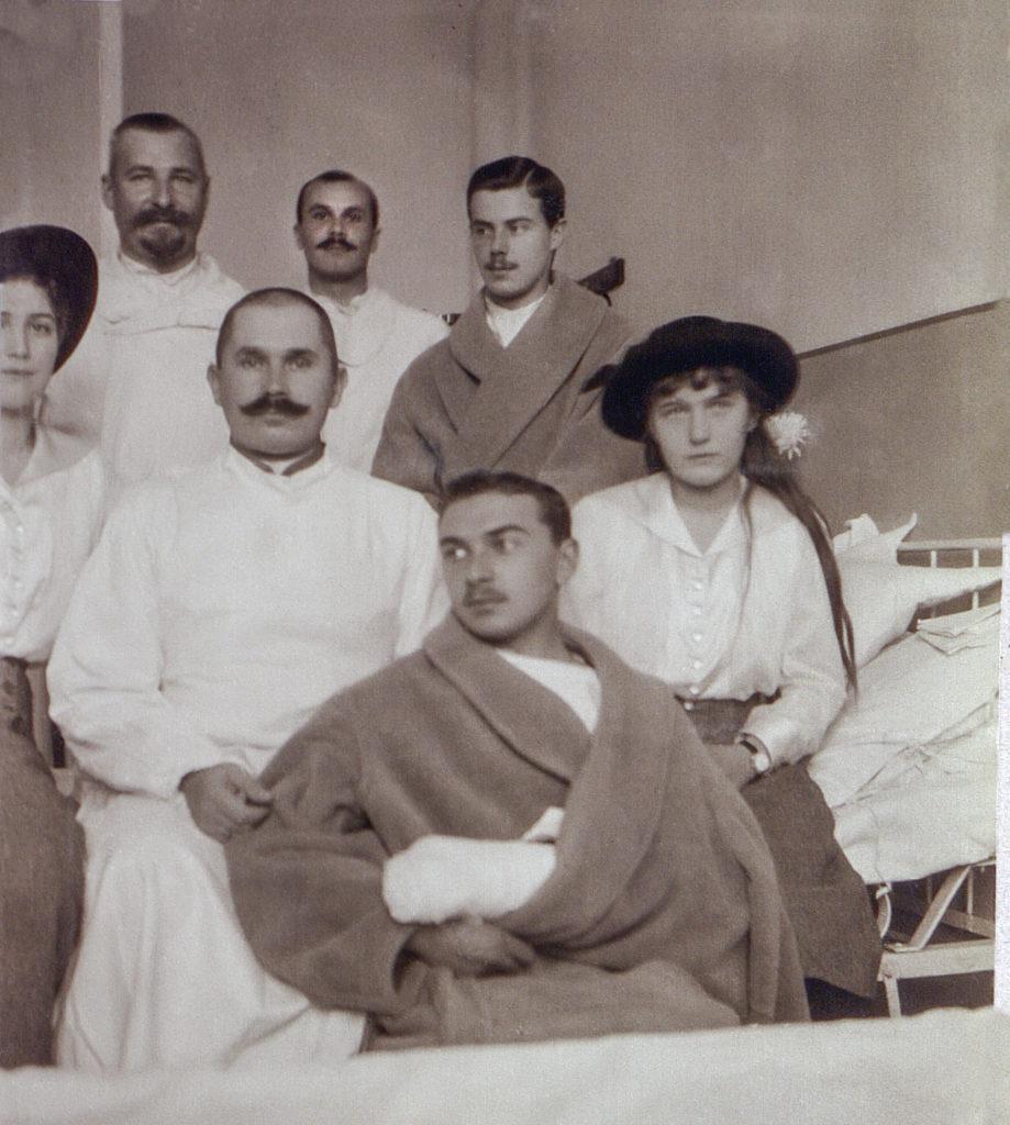 Grand Princesses Maria Nikolaevna and Anastasia Nikolaevna - the chiefs of the hospital No. 17. 1914-1917