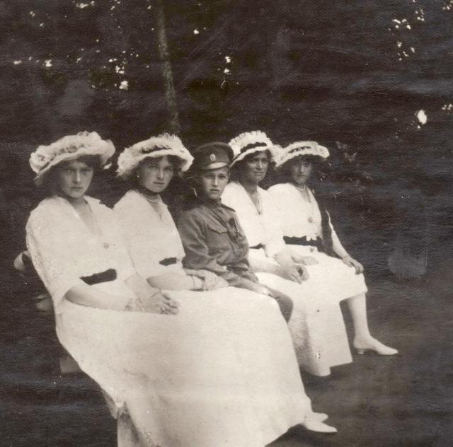 Great Princes Olga, Tatiana, Maria, Anastasia and heir Alexei