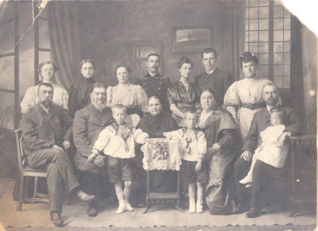 Group portrait. 1910s. Murom, Vladimir Province, Russia