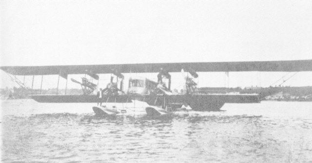 Heavy bomber Ilya Muromets as hydroplane