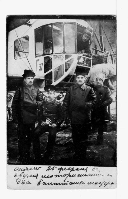 Heavy bomber Ilya Muromets IM-G series crew
