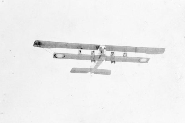 Heavy bomber Ilya Muromets series B, Argus, in flight