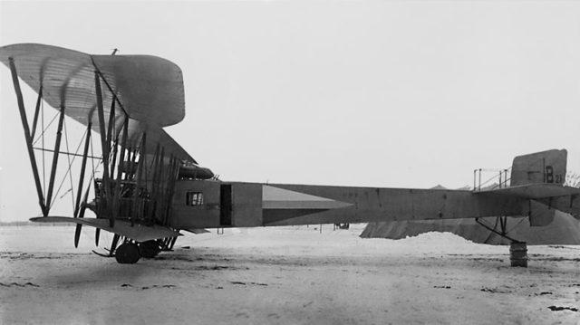 Heavy bomber Ilya Muromets series V-21
