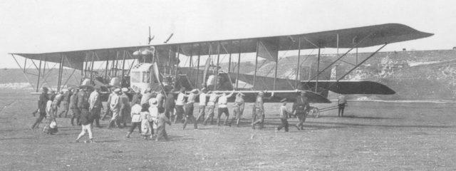 Heavy bomber Ilya Muromets series V ready to fly
