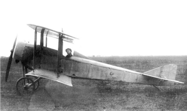 Lebed X MK fighter variant. Pilot in cabin: V.A.Lebedev