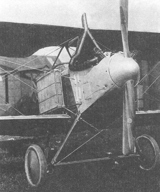Lebedev Lebed XII bis with engine Hispano-Suiza