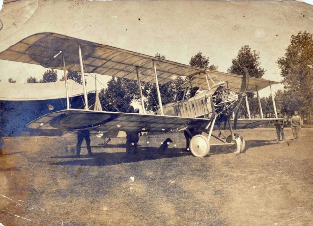 Lebedev Lebed XII with open engine