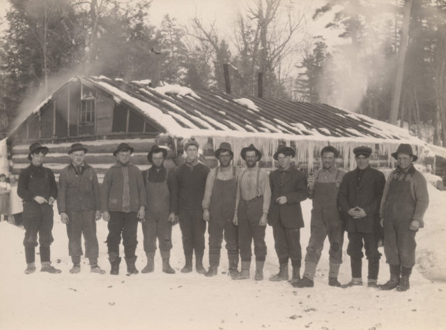 Lumber jacks, 1917