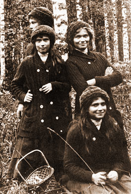 OTMA - Grand Duchesses Olga, Tatiana, Maria and Anastasia of Russia