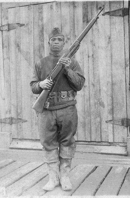 Portrait of unidentified WWI soldier.