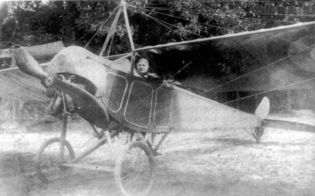 Reconnaissance Airplane Moska-MB