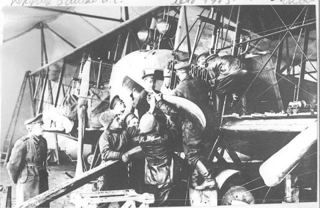 Replacing Argus-ASII engine on Heavy bomber Ilya Muromets IM-V.