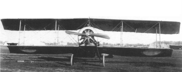 Russian reconnaissance airplane Anakler