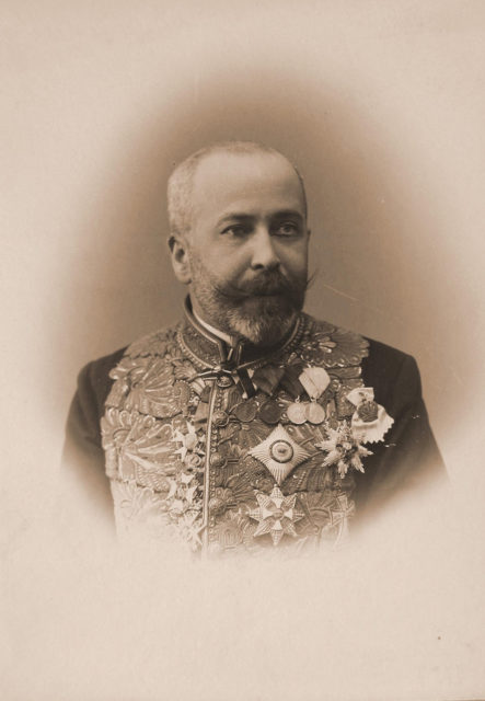 Sheremetev Sergey Dmitrievich - Earl, chief clerk of the Imperial Court