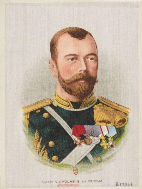 Tsar Nicholas II of Russia - Emperor of Russia Nikolay II