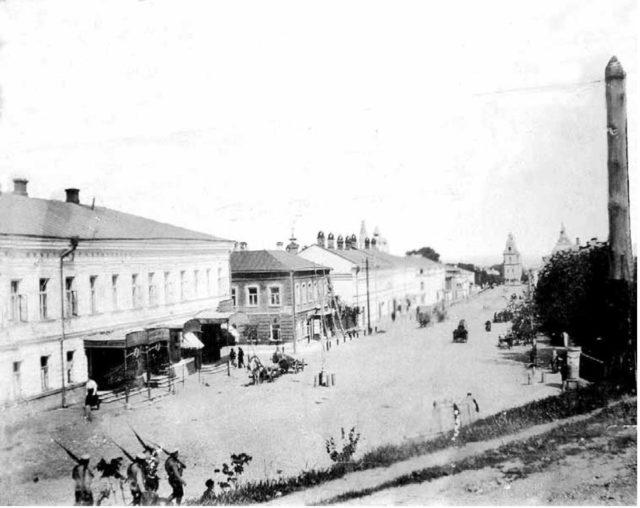 Vladimir - Bolshaya Nizhegorodskaya Street. 1900s