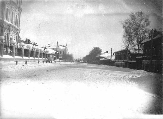 Voskresenskaya street. 1909-1917. Vladimir
