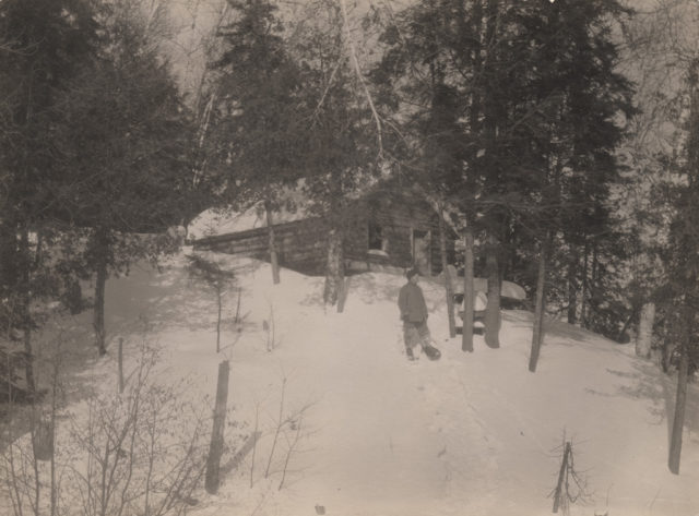 Winter cabin, 1917