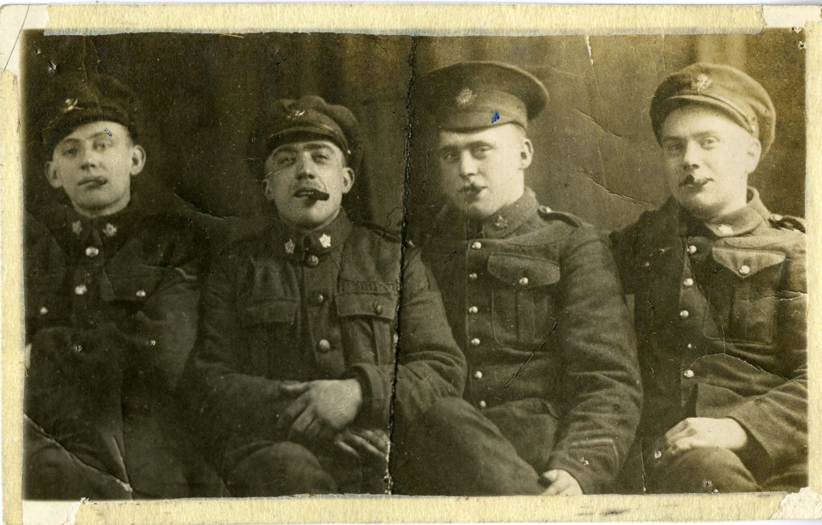 Allan Brindley, Harold Young, Lew Elliott, Unidentified
