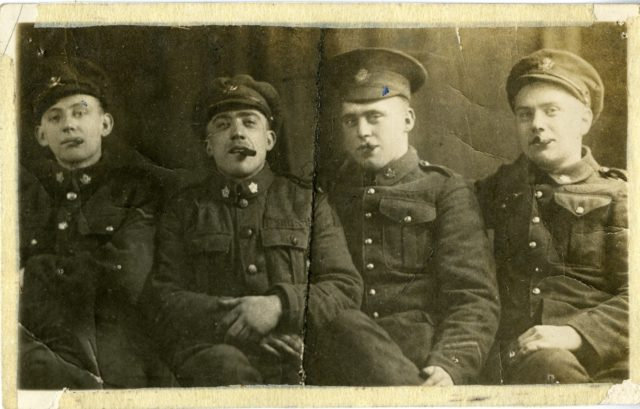 Allan Brindley, Harold Young, Lew Elliott, Unidentified